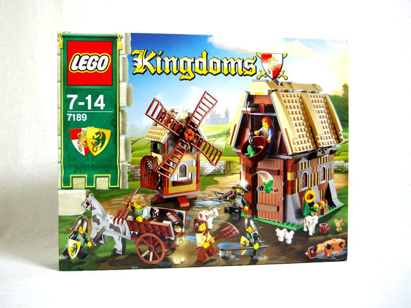 #7189 レゴ 風車村の攻防