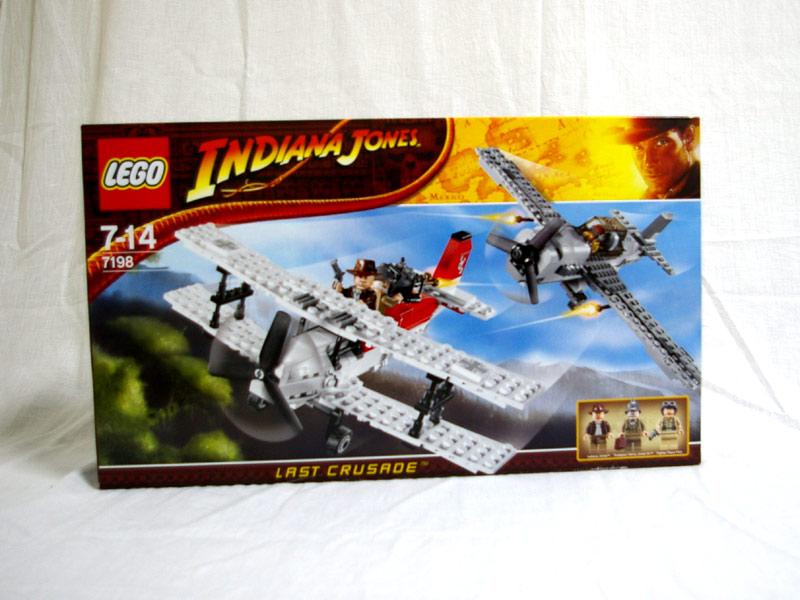 #7198 レゴ 戦闘機の攻撃
