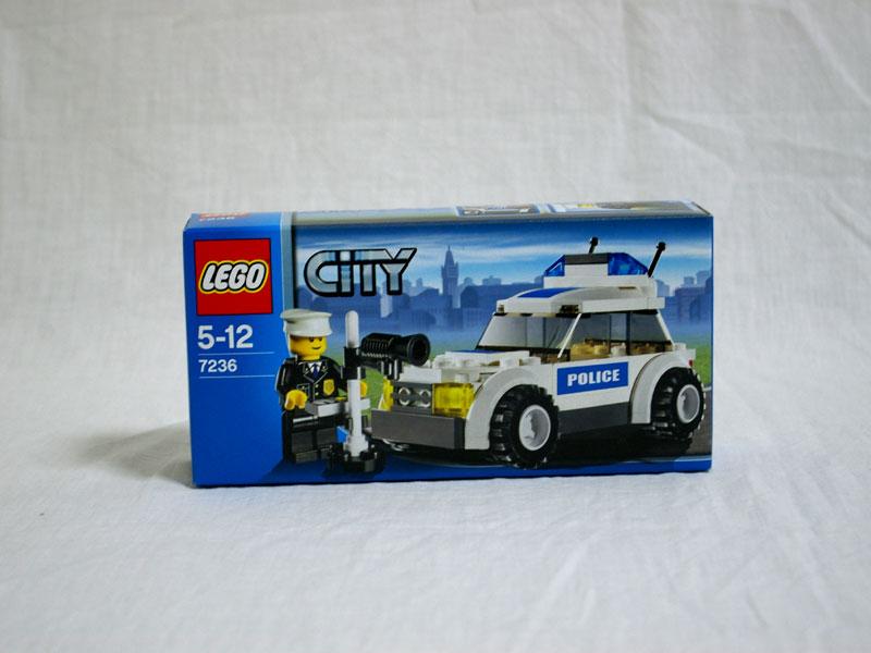 #7236 レゴ パトロールカー