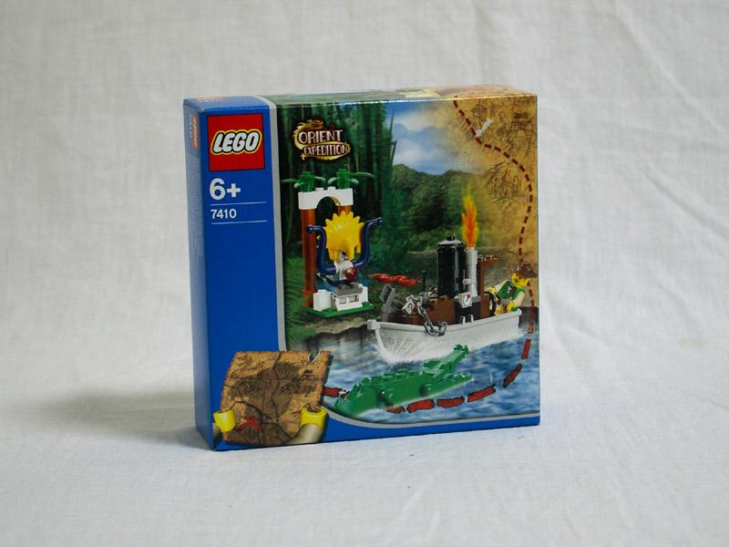 #7410 レゴ ジャングルリバー