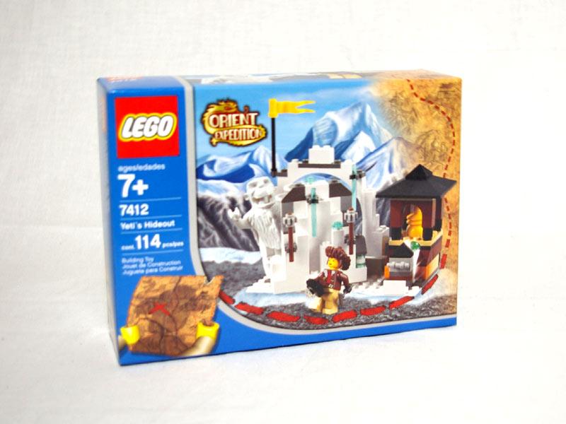 #7412 レゴ 雪男イエティの隠れ家
