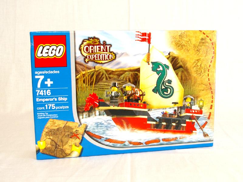 #7416 レゴ ドラゴンシップパトロール