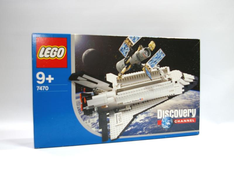#7470 レゴ スペースシャトル・ディスカバリー