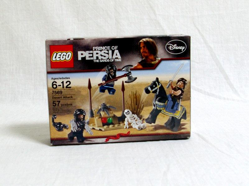 #7569 レゴ 砂漠の攻撃