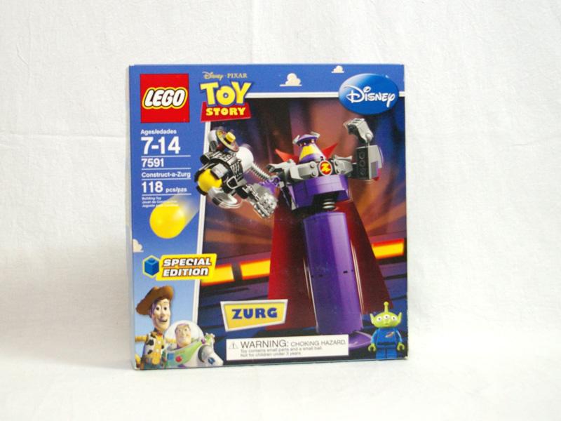 #7591 レゴ 悪の帝王ザーグ