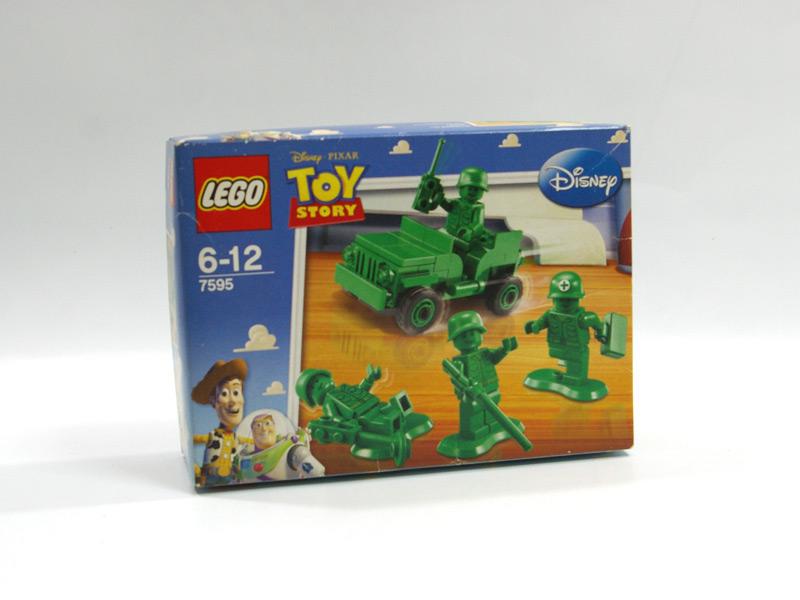 #7595 レゴ パトロール中のグリーン・アーミー・メン