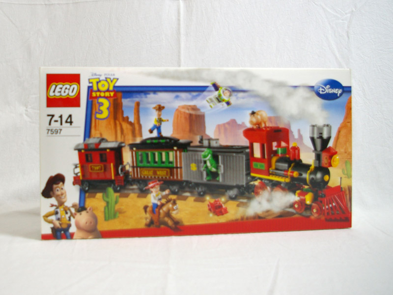 #7597 レゴ ウェスタン・トレインの追跡