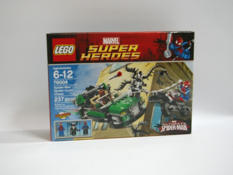 #76004 レゴ スパイダーサイクル・チェイス