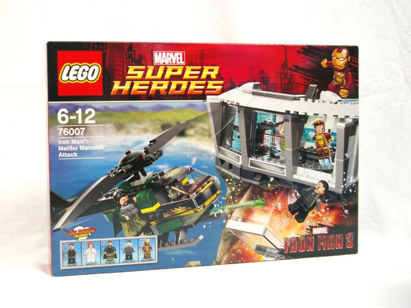 #76007 レゴ アイアンマン マリブのマンションアタック