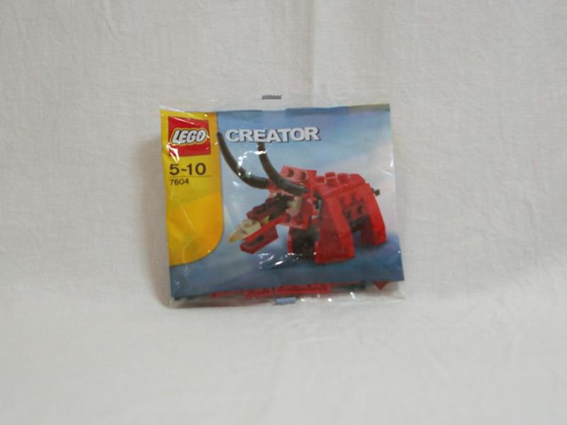 #7604 レゴ トリケラトプス