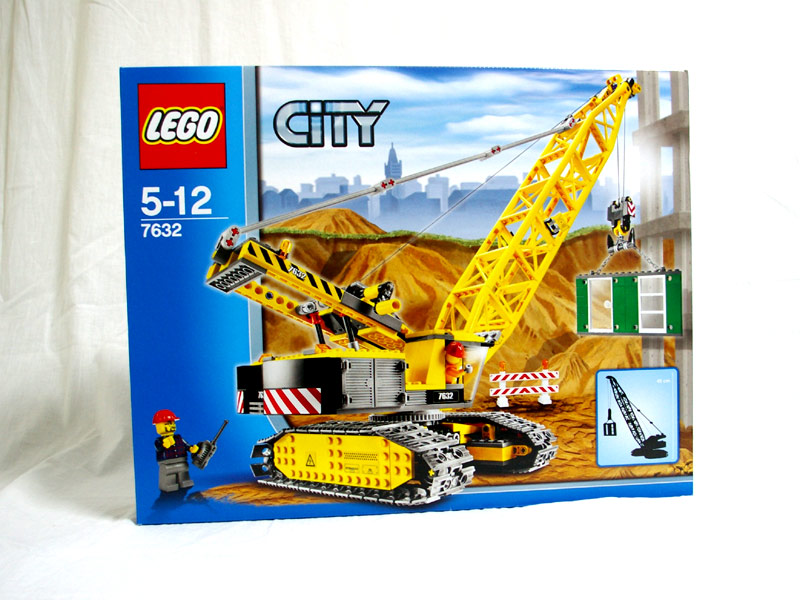 #7632 レゴ クローラー・クレーン