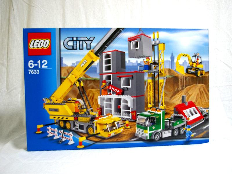#7633 レゴ ビル建設現場