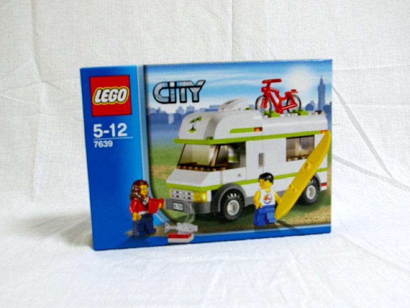#7639 レゴ キャンピングカー