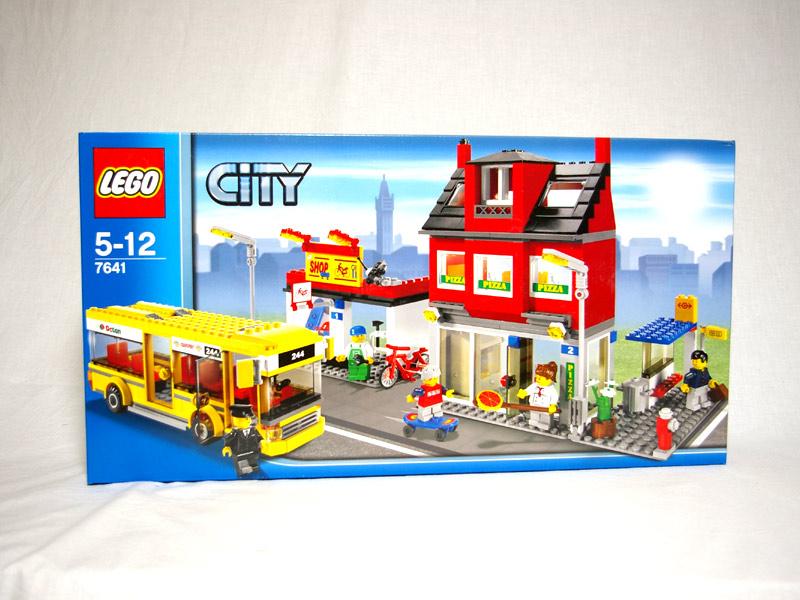 #7641 レゴ レゴシティの街角