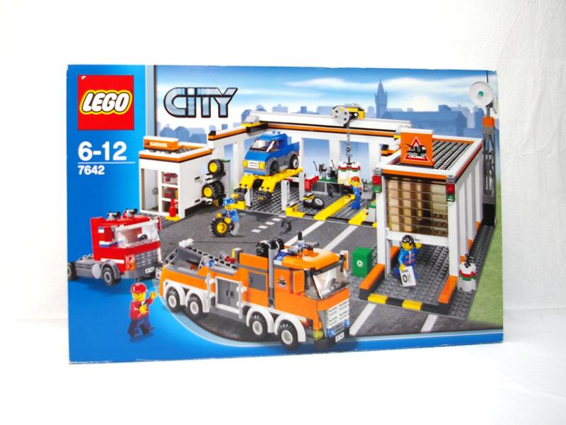 #7642 レゴ 自動車修理工場