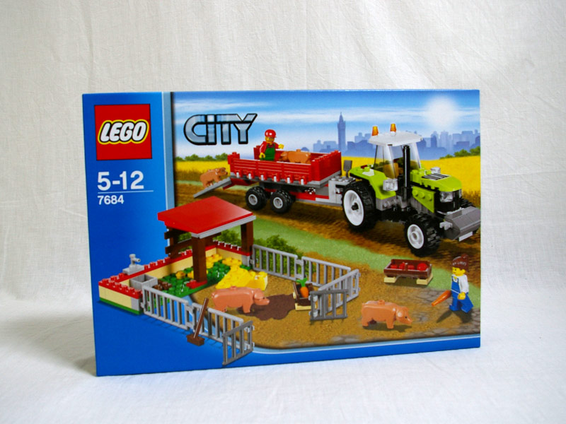 #7684 レゴ 養豚場とトラクター