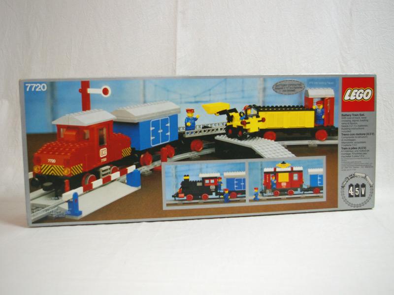 #7720 レゴ モーター付汽車セット