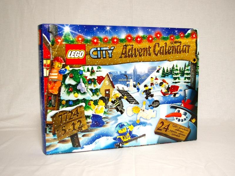 #7724 レゴ シティ アドベントカレンダー2008