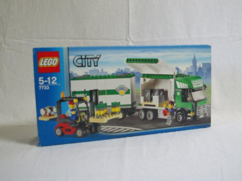 #7733 レゴ トラックとフォークリフト
