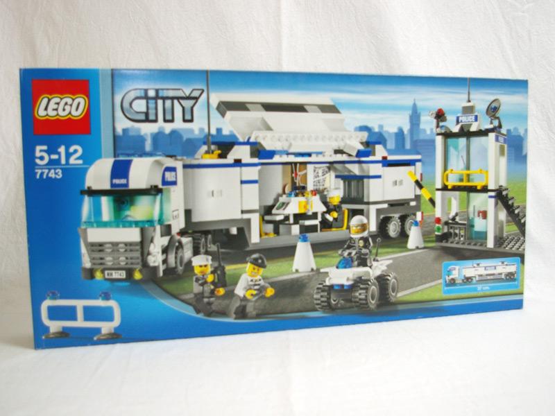 #7743 レゴ 警察トラック