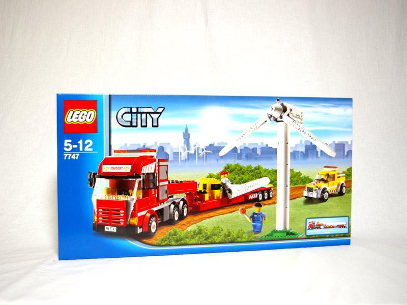 #7747 レゴ 風力発電タービンと輸送トラック