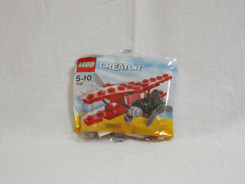 #7797 レゴ 複葉機