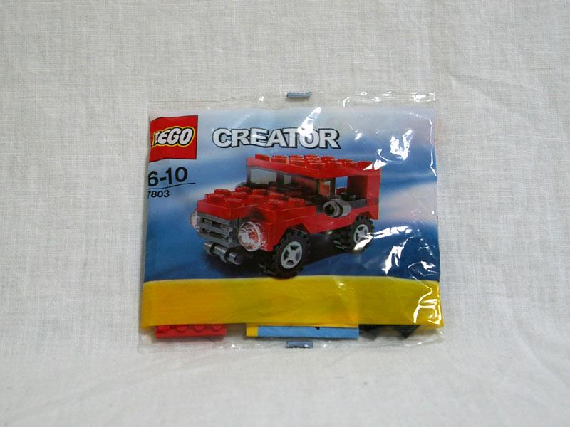 #7803 レゴ ミニジープ