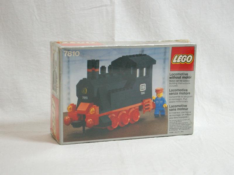 #7810 レゴ 蒸気機関車
