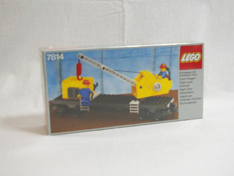 #7814 レゴ クレーン車