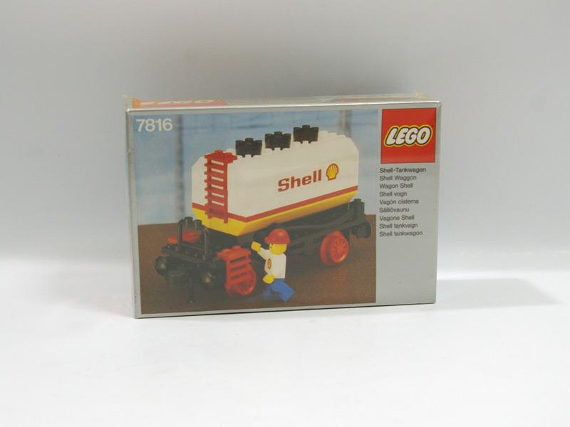 #7816 レゴ タンク車