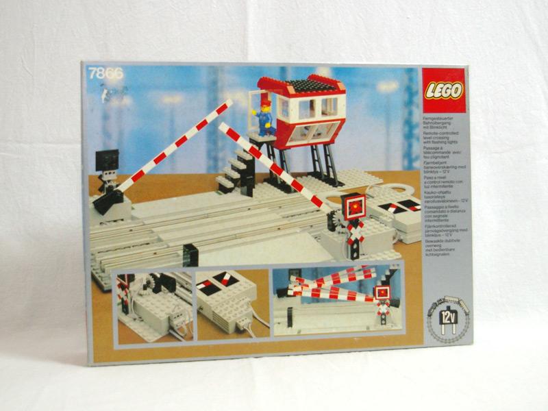#7866 レゴ リモコン踏み切り