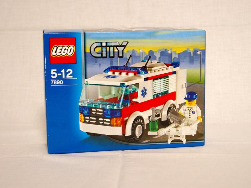 #7890 レゴ 救急車