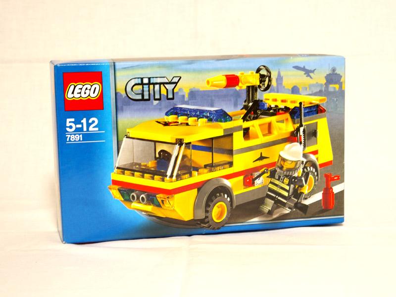 #7891 レゴ エアポート消防車
