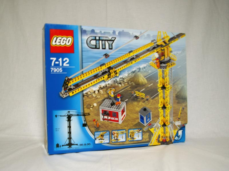 #7905 レゴ タワークレーン
