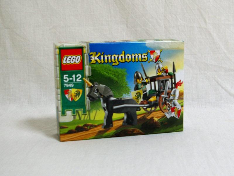 #7949 レゴ ドラゴン・ナイト団の馬車