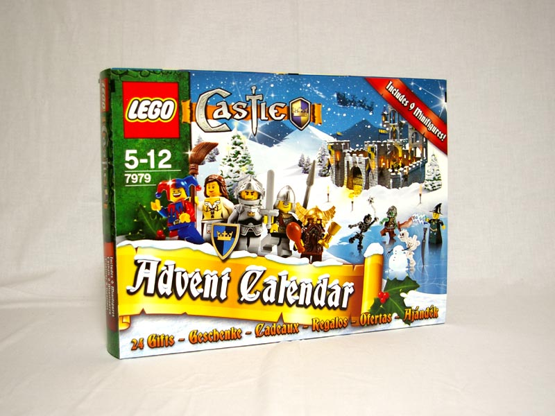 #7979 レゴ キャッスル アドベントカレンダー2008