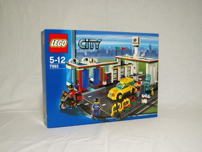 #7993 レゴ ガソリンスタンド