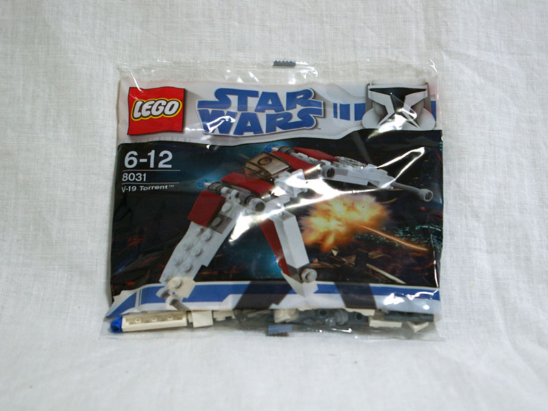 #8031 レゴ ミニ V-19 トレント