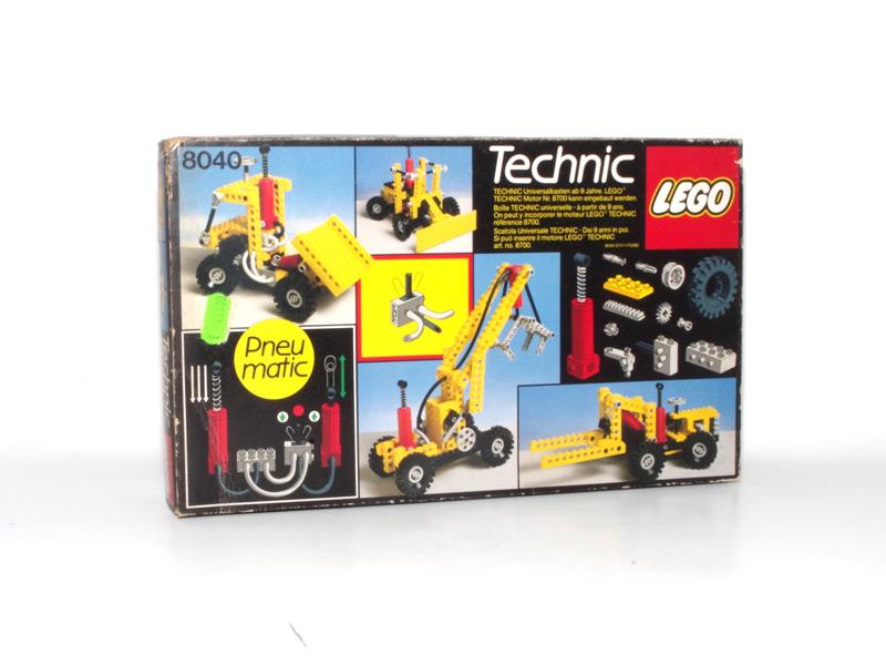 #8040 レゴ テクニカル基本セット