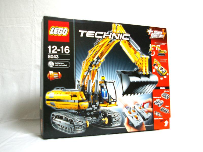 #8043 レゴ ショベルカー