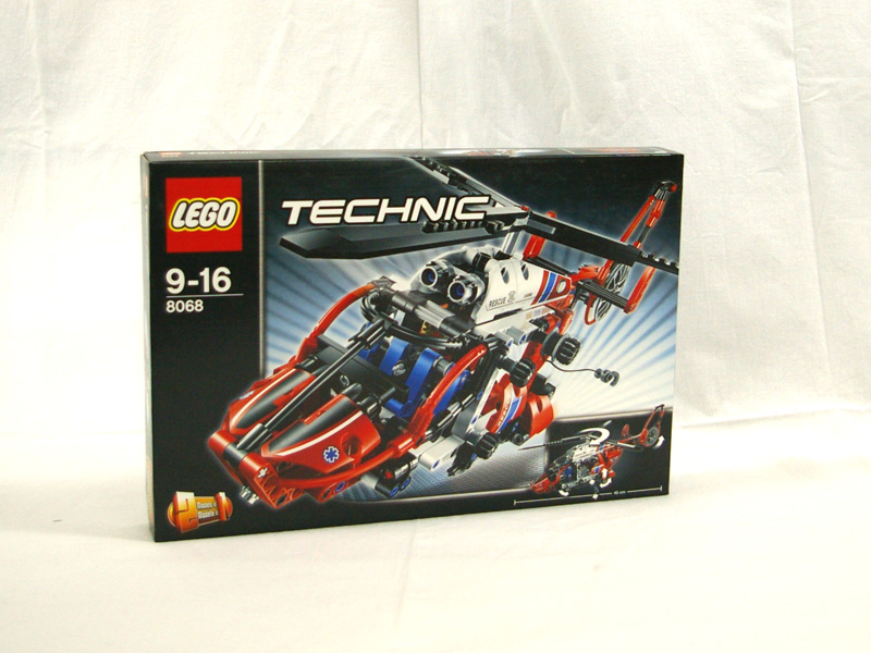 #8068 レゴ レスキューヘリコプター