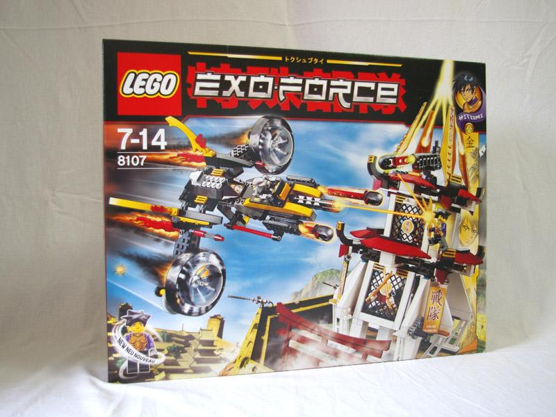 #8107 レゴ ゴールデンタワーの闘い