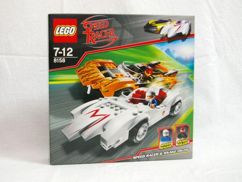 #8158 レゴ スピード・レーサー&スネーク・オイラー