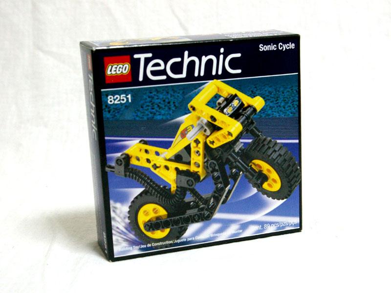 #8251 レゴ イエローバイク