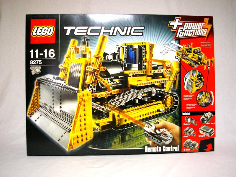 #8275 レゴ 電動式ブルドーザー