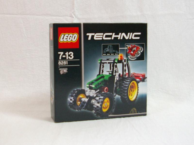#8281 レゴ ミニトラクター