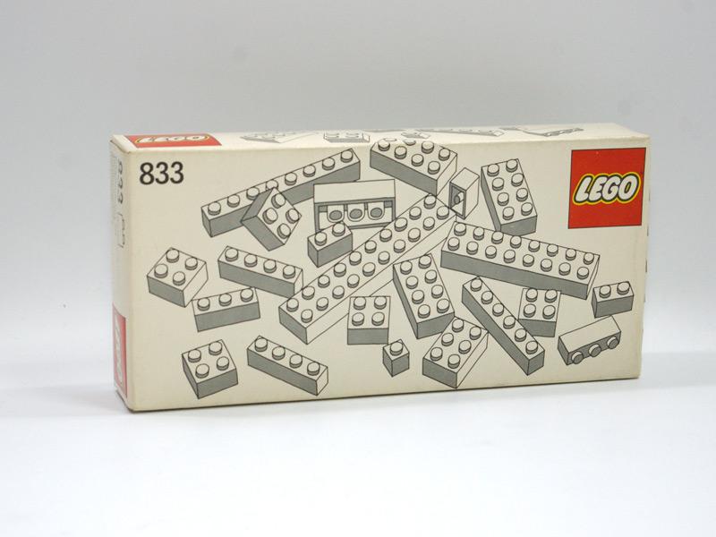 #833 レゴ 基本ブロック(白)