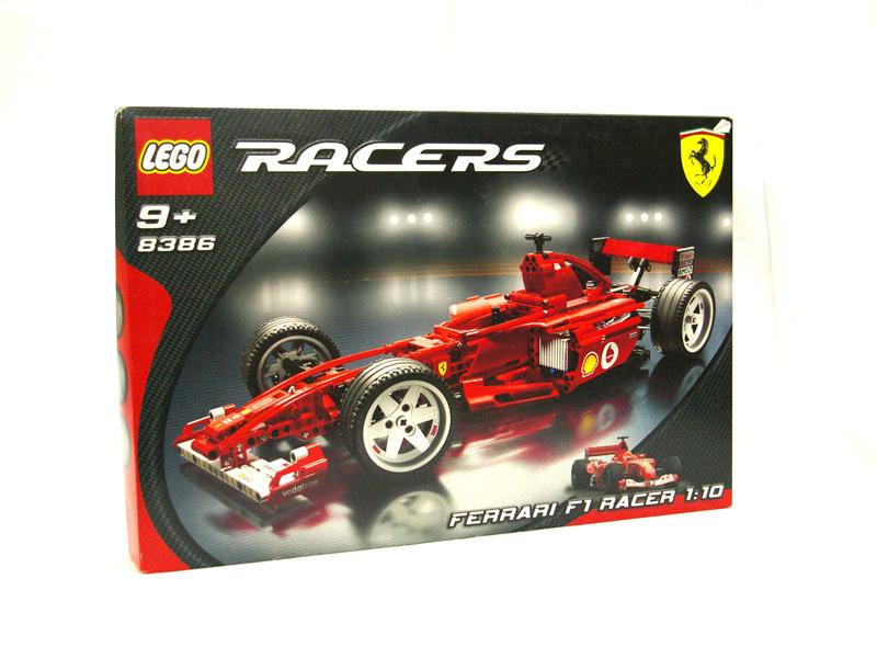 #8386 レゴ フェラーリF1レースカー1/10