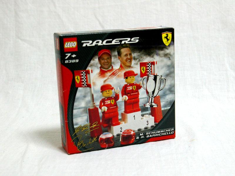 #8389 レゴ フェラーリF1シューマッハ&バリチェロ