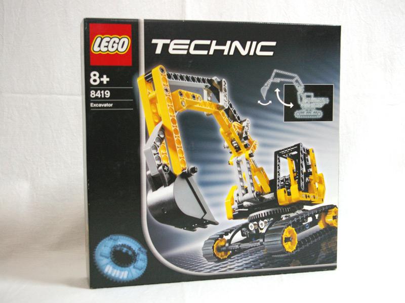#8419 レゴ ショベルカー